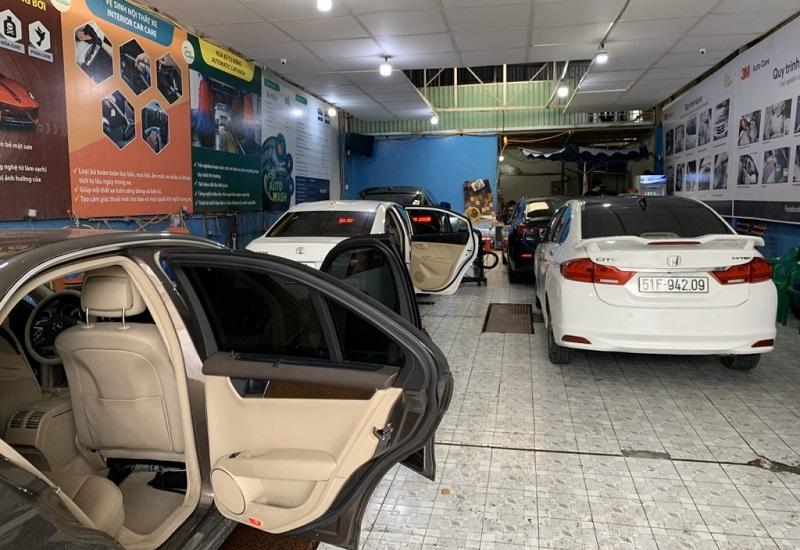 Autowash là nơi chuyên cung cấp dịch vụ giặt ghế nỉ ô tô xe hơi